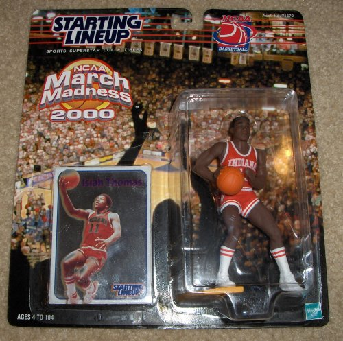 2000 Isiah Thomas NCAA March Madness Starting Lineup Figure