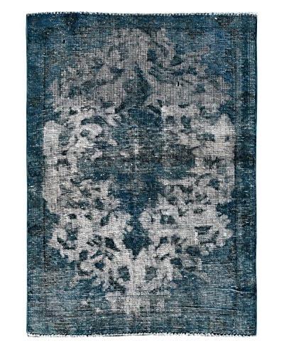 "Kalaty One-of-a-Kind Pak Vintage Rug, Blue, 2' 9"" x 4'"