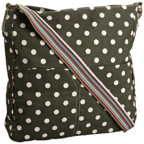 SwankySwans Women's Kirsty Polka Crossbody School Bag