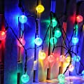 RECESKY Battery Operated Crystal Ball String Lights 30 LED