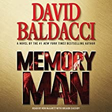 Memory Man (       ABRIDGED) by David Baldacci Narrated by Ron McLarty