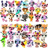 Pack of 10 PCS Littlest Pet Shop Figures Random Styles