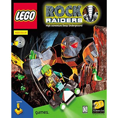 Download Free PC Games Lego Rock Raiders Free Full Version PC Game