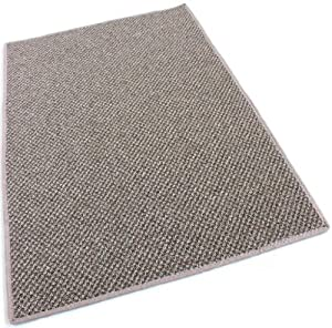 "3'X1'6"" HALF ROUND - Spicewood - Indoor/Outdoor Area Rug Carpet, Runners & Stair Treads with a Premium Nylon Fabric FINISHED EDGES."