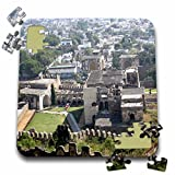 Angelique Cajam India - Fort Gloconda castle views - 10x10 Inch Puzzle (pzl_26794_2)