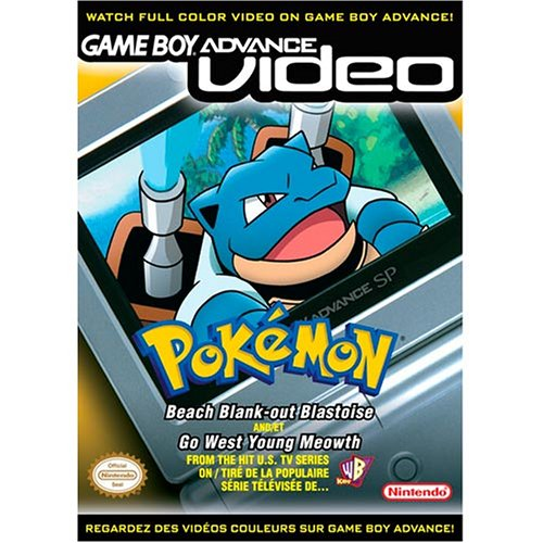 Pokemon Beach Blank-Out Blastoise and Go West Young Meowth (Pokemon Gameboy Advance Video compare prices)