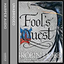 Fool's Quest: Part 2: Fitz and the Fool, Book 2 (       UNABRIDGED) by Robin Hobb Narrated by Avita Jay, Lee Maxwell-Simpson