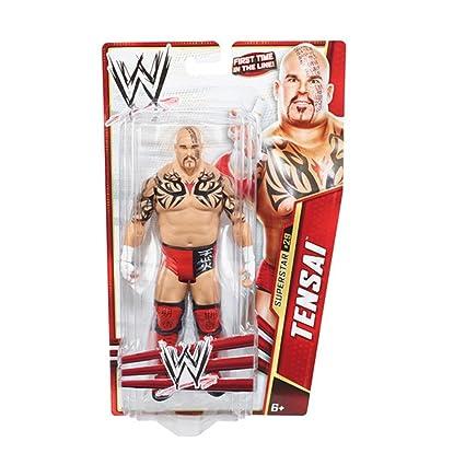 WWE - Catch - Figurines articulées - Série Basic 28 - #29 - Tensai
