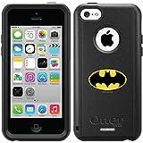Batman – Emblem design on a Black OtterBox® Commuter Series® Case for iPhone 5c Reviews