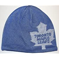 Toronto Maple Leafs Reversible Knit Reebok Hat - KE58Z