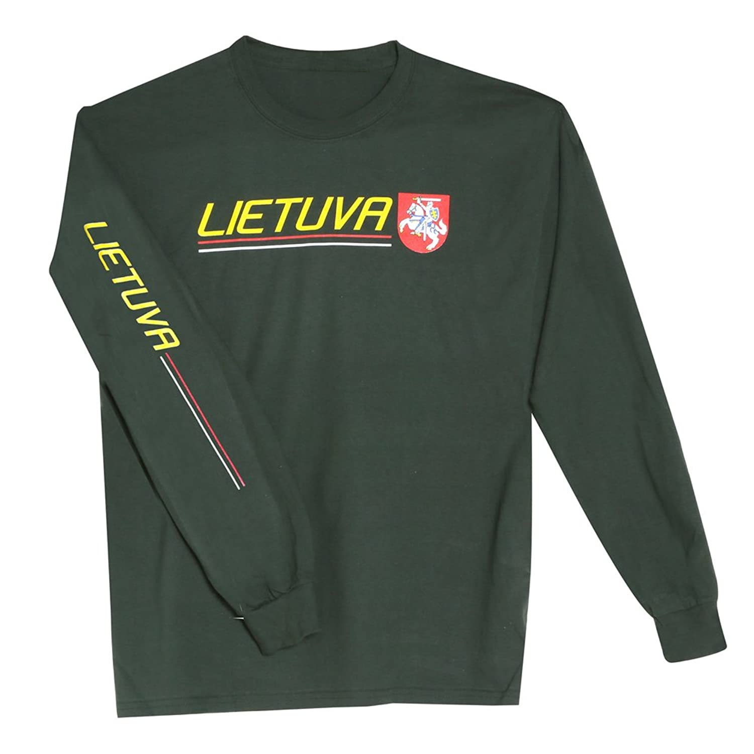 Unisex-Adult International Pride Long Sleeve Shirt - Lietuva (Lithuania) handbook of international economics 3