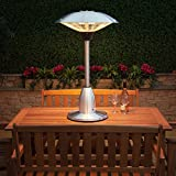 Fire Mountain Electric Halogen Table Top Patio Heater
