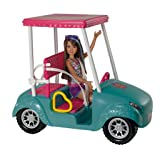 Barbie Sisters Golf Cart And Skipper Doll OriginalStickers0086 Set Of Two (2x) Stickers , Laptop , Ipad , Car , Truck , Size 4 inches on Longer Side