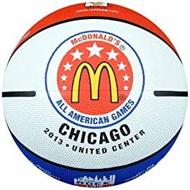 Anaconda Sports® The Rock® MG-4200-MC13 2013 McDonald's All American High School Game Logo Regulation Rubber Basketball