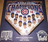 """Chicago Cubs 2016 World Series Team Home Plate 11.5"""" x 11.5"""""""