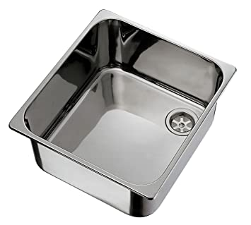 Ambassador Marine Rectangle Stainless Steel Ultra Mirror Polished Finish Sink