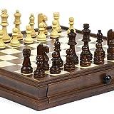 New York Stock Exchange Deluxe Wooden Chess & Checkers Set