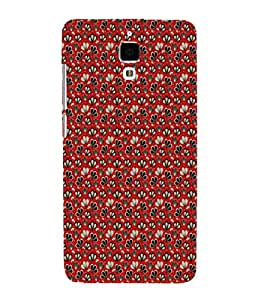 EPICCASE mixed flowers Mobile Back Case Cover For Xiaomi Mi4 (Designer Case)