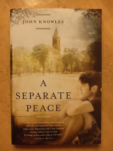 a review of a separate peace a novel by john knowles A short summary of john knowles's a separate peace this free synopsis covers all the crucial plot points of a separate peace.