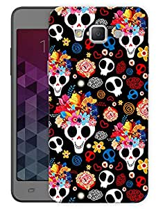 "Humor Gang Cute Skulls Printed Designer Mobile Back Cover For ""Samsung Galaxy A3"" (3D, Matte, Premium Quality Snap On Case)"