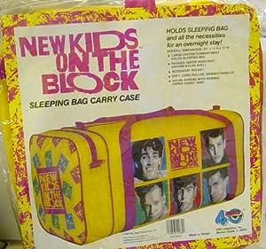 Amazon Com New Kids On The Block Nkotb Sleeping Bag