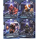  HALO 4 1/SET OF 4(4) 4/mcfarlane