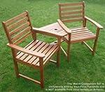 Hardwood Companion Seat Ascot Corner...