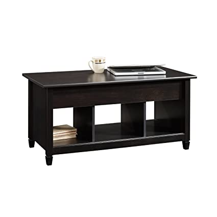 Premium Coffee Table Lift Top Storage Living Room Black Pop up Modern Contemporary and Unique Wood Furniture