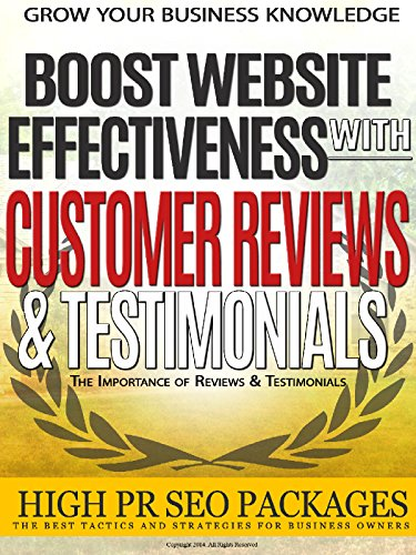 Why Customer Reviews And Testimonials Boost Website Effectiveness