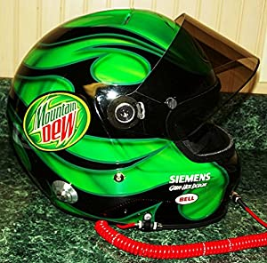 how to make a hockey helmet painted