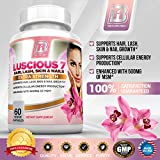 BRI-Nutrition-Luscious-7-100-Natural-Hair-Lash-Skin-and-Nails-Formula-Pure-and-Potent-Growth-Booster-Supplement-60-count-Vegetarian-Capsules-With-Vitamins-and-Minerals