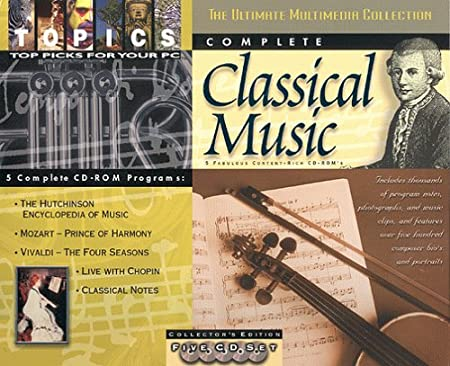 Complete Classical Music (4 CD-ROM)