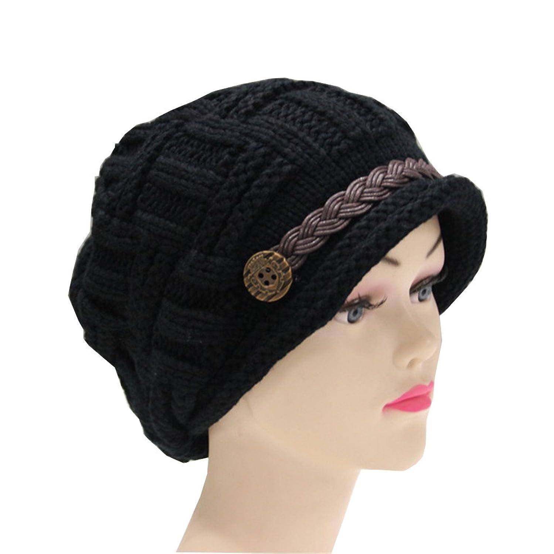 f69483804e81d Senchanting Women s Winter Snowboarding Knit Snow Warm Hat Beanie Crochet  Cap
