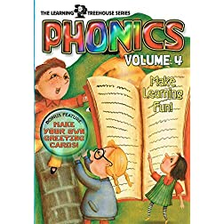 The Learning Treehouse: Phonics - Volume 4
