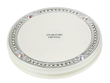 Fantasia Miroir De Poche Grossissant 10x Blanc Diamètre 105