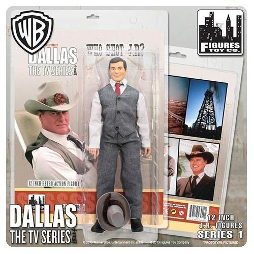"Dallas 12 Inch Action Figures Series One: ""Who Shot Jr?"" Jr Ewing Figure"