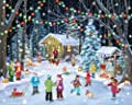Woodland Skaters Jigsaw Puzzle 1000 Piece by Vermont Christmas Company