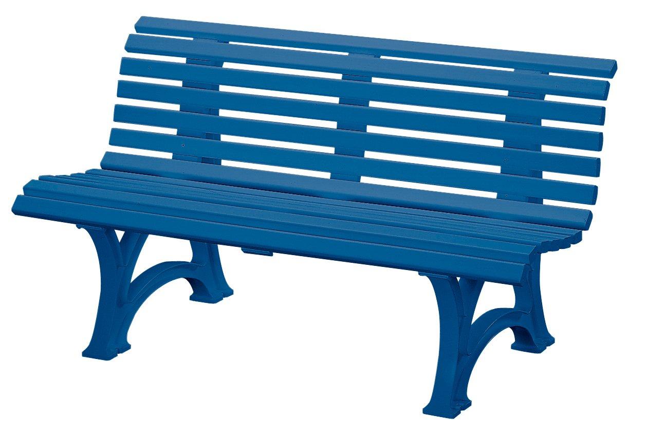 "Blome-Tillmann Gartenbank ""Neptun/Helgoland"" Kunststoffgestell blau günstig kaufen"