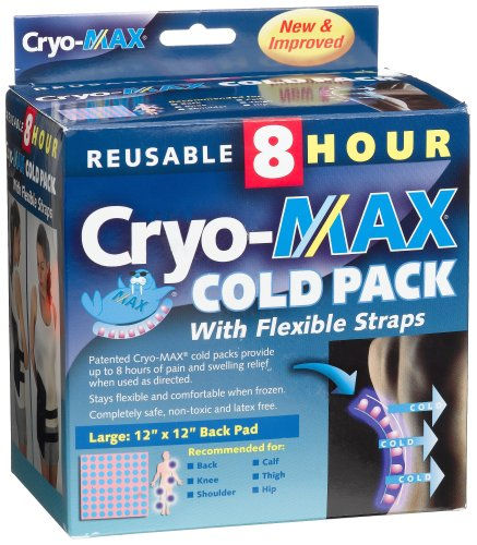 Cryo-Max Reusable Cold Pack, Large, 12