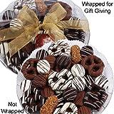 Art of Appreciation Gift Baskets   Premium Belgian Chocolate Gift Platter, 36 Pieces