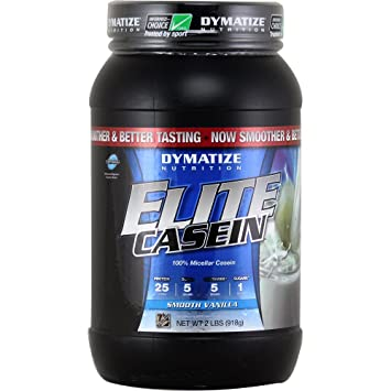 Dymatize Nutrition Elite Casein Smooth Vanilla 2 lbs
