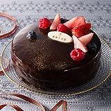 「銀座千疋屋」ベリーのチョコレートケーキ【お届け:12月23日】[クリスマスケーキ予約・2016]