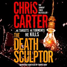 The Death Sculptor Audiobook by Chris Carter Narrated by Thomas Judd