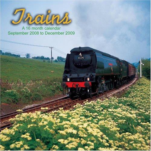 Trains 2009 Wall Calendar Magnum