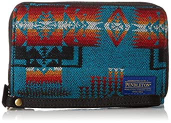 Pendleton Men's Smart Phone Wallet, Chief Joseph Turquoise, One Size
