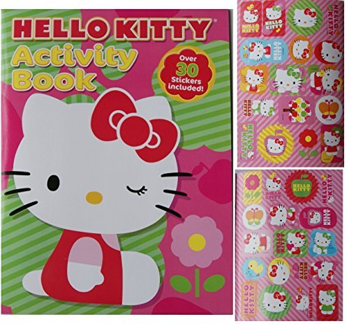 Hello Kitty Coloring and Activity Book with 30 Stickers - 1