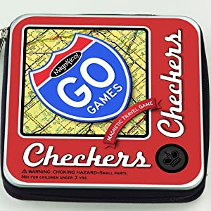 Magnetic Poetry Go Games Checkers