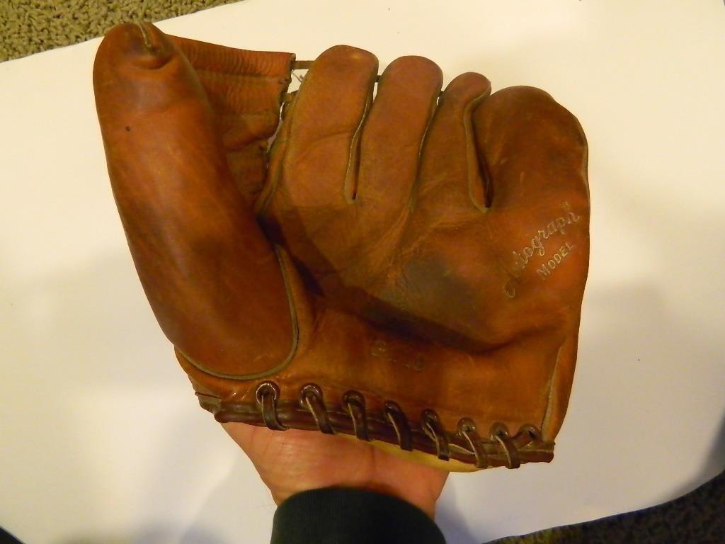 1950 S Macgregor G119 Red Schendiest Vintage Baseball