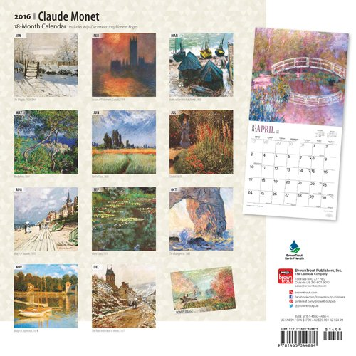 Monet Claude 2016 Wall