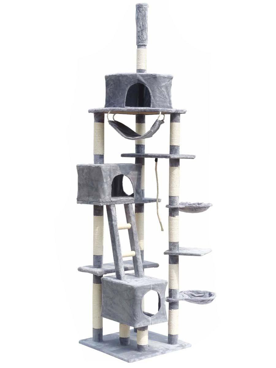 arbre chat pour gros chat. Black Bedroom Furniture Sets. Home Design Ideas